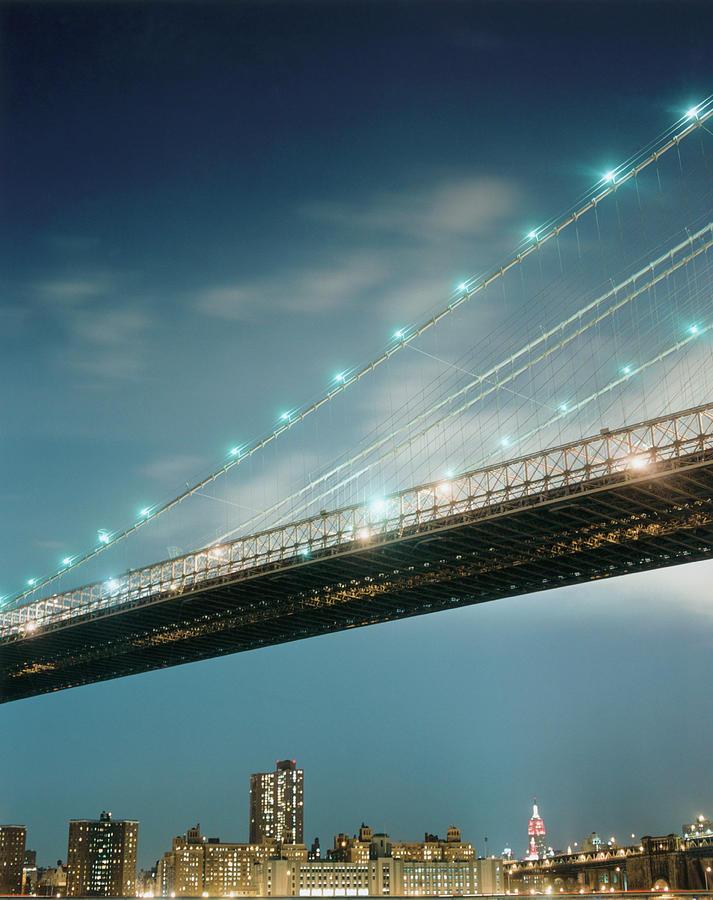 Brooklyn Bridge Photograph by Silvia Otte