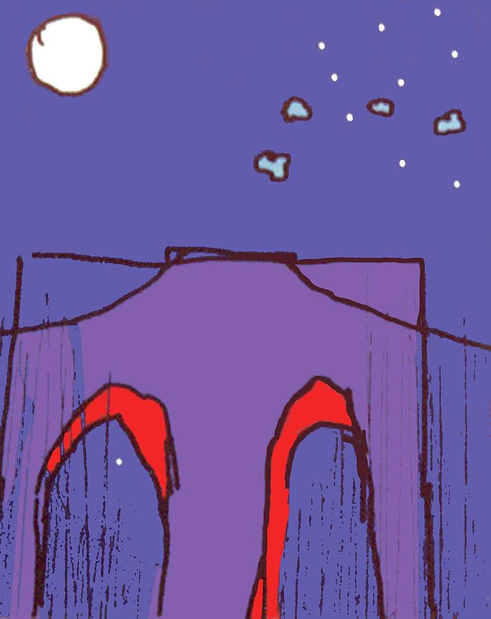 Brooklyn Bridge V by Gail Eisenfeld