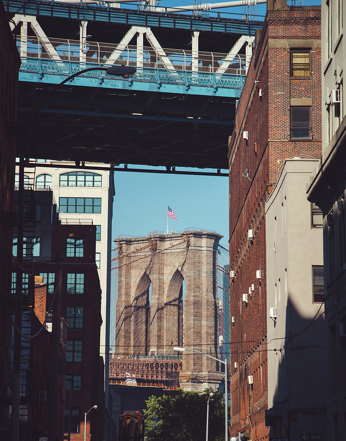Brooklyn Bridge View by Sonja Quintero