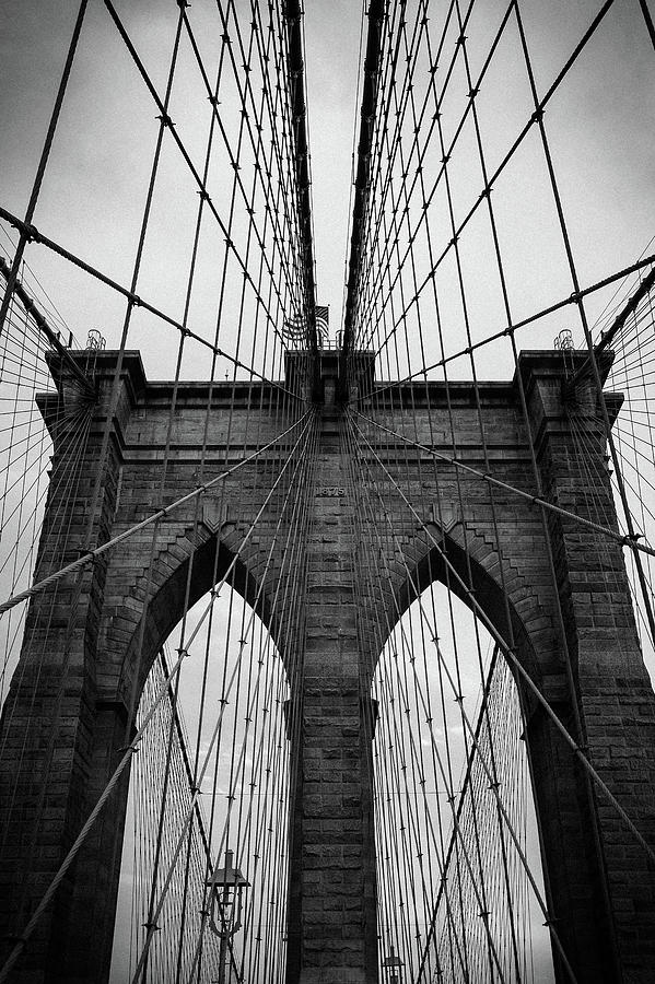 Brooklyn bridge Wall art by Andy Myatt