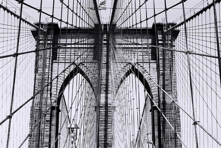 Brooklyn Bridge Photograph by Win-initiative