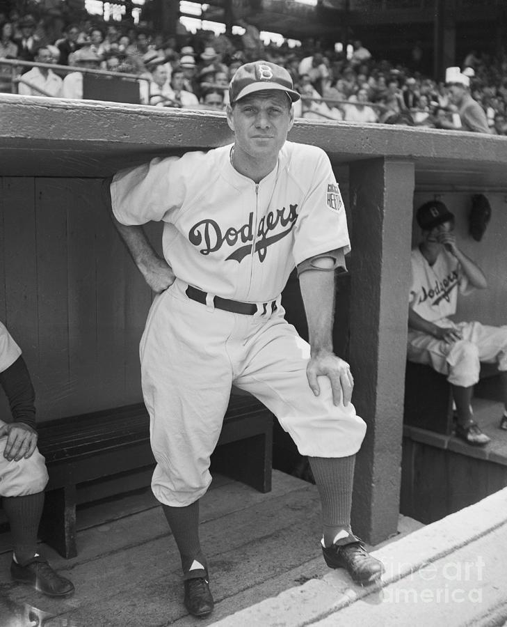 Brooklyn Dodgers Manager Leo Durocher Photograph by Bettmann