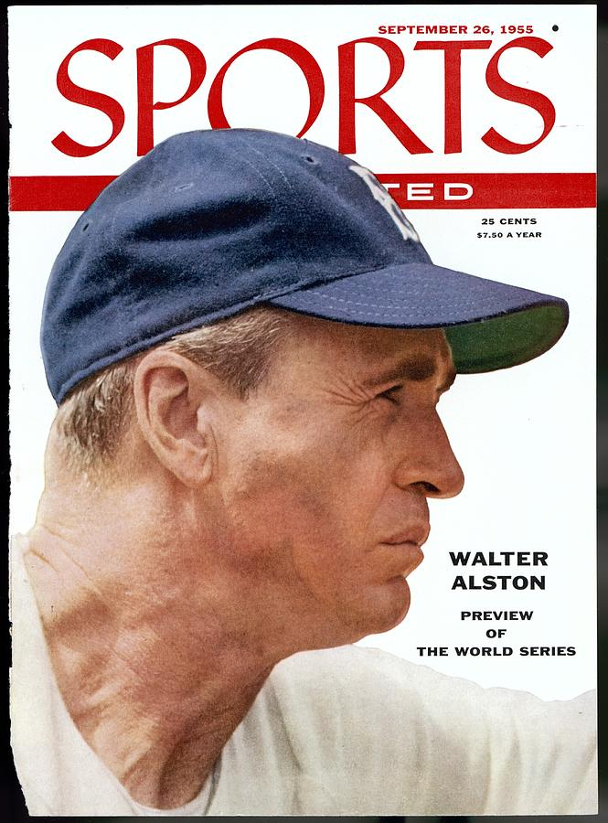 Brooklyn Dodgers Manager Walter Alston Sports Illustrated Cover Photograph by Sports Illustrated