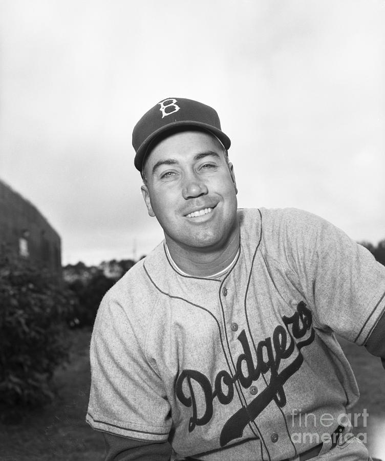 Brooklyn Dodgers Player Duke Snider Photograph by Bettmann
