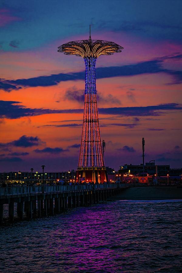 Brooklyn Landmark Sunset by Chris Lord