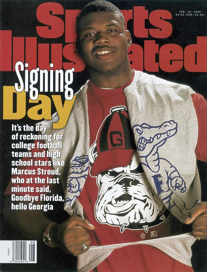 Brooks County High Marcus Stroud Sports Illustrated Cover Photograph by Sports Illustrated