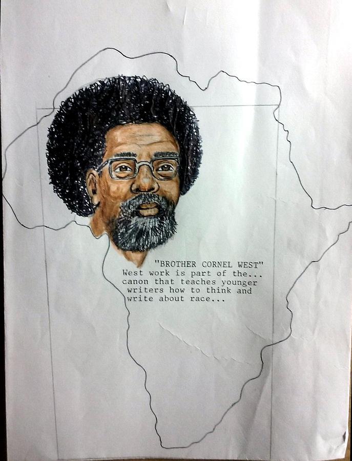 Brother Cornel West  by Joedee