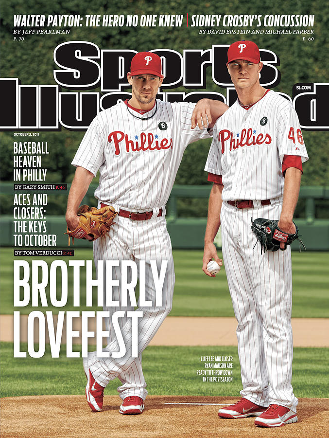 Brotherly Lovefest Sports Illustrated Cover Photograph by Sports Illustrated