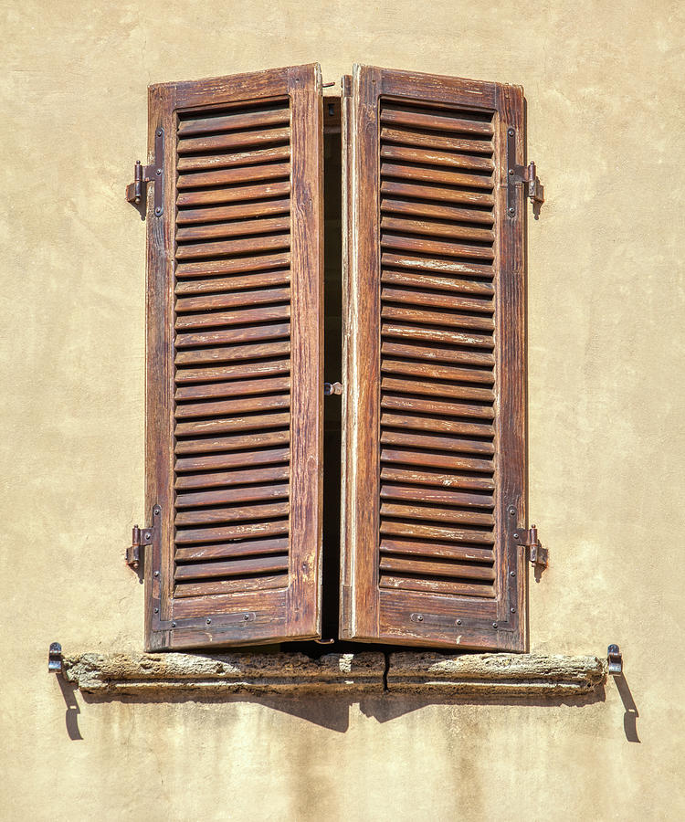 Brown Window of Florence by David Letts