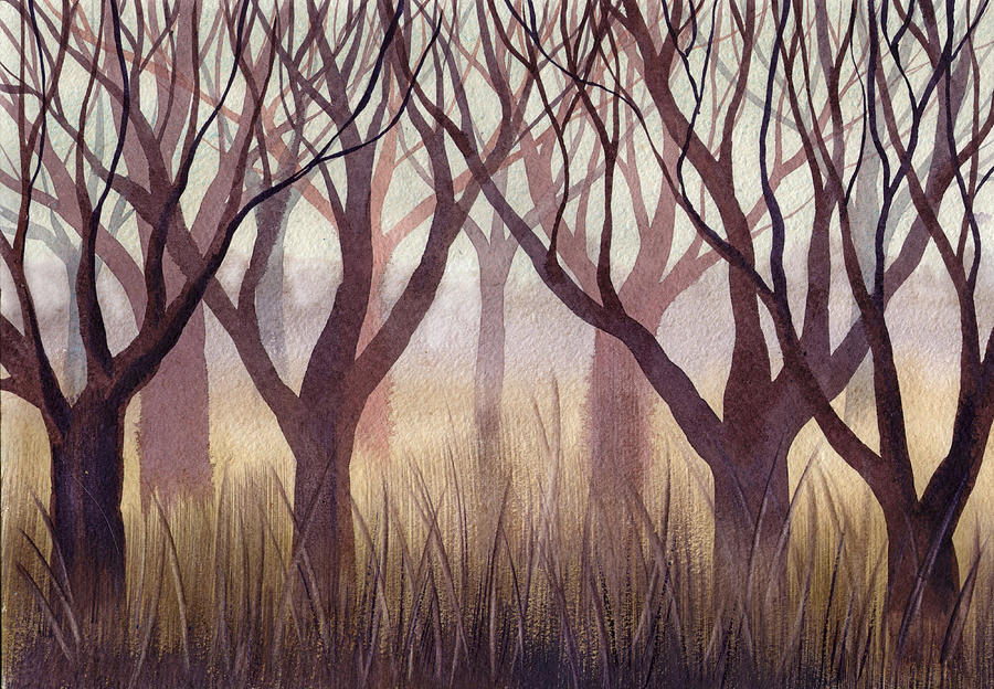 Brownish Forest by Ina Petrashkevich