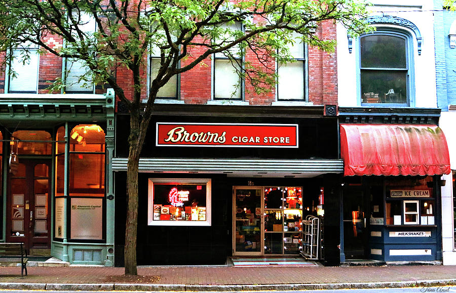 Browns Cigar Store by Trina Ansel