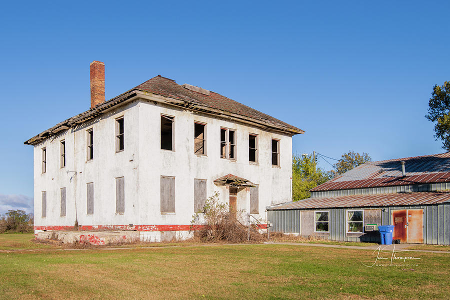 Abandoned Building Photograph - Bruce School by Jim Thompson
