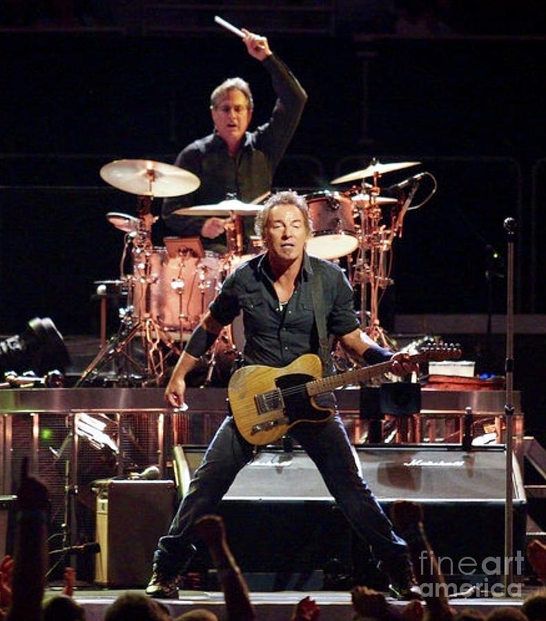 Bruce Springsteen Photograph - Bruce Springsteen  by EliteBrands Co