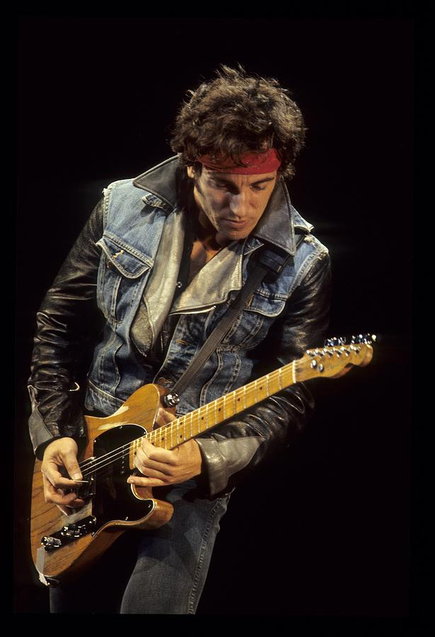Bruce Springsteen Performs Live Photograph by Richard Mccaffrey