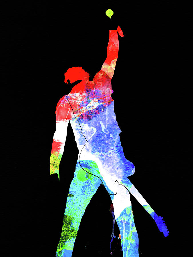 Bruce Springsteen Mixed Media - Bruce Watercolor II by Naxart Studio