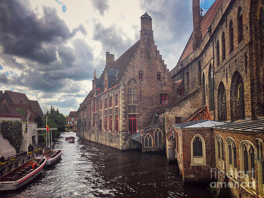 Bruges Canals by Jeanette French