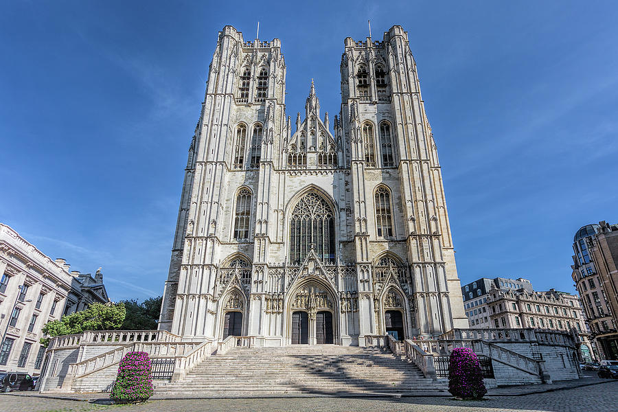 Brussells Cathedral by Jemmy Archer
