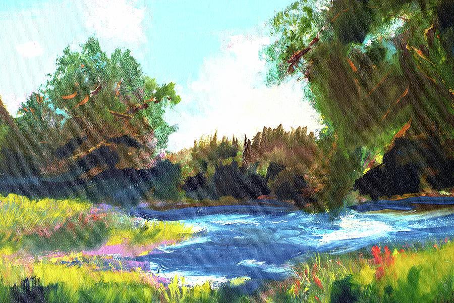 Bryant Park North Pond by Paul Thompson