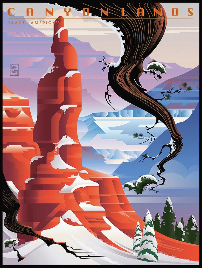 Bryce Canyon Digital Art - Canyonlands Studio Bryce Canyon by Garth Glazier