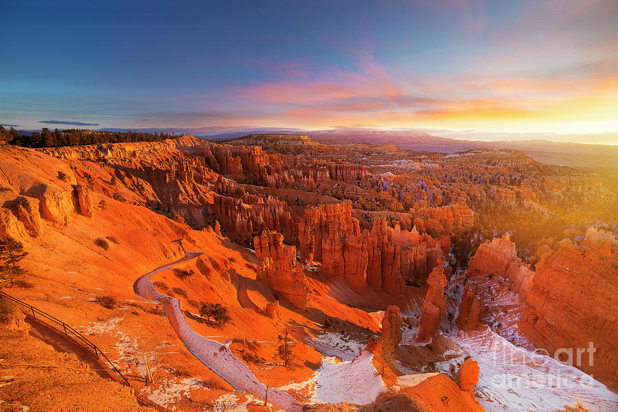 Bryce Canyon National Park At Sunset Photograph by Ankit Saxena