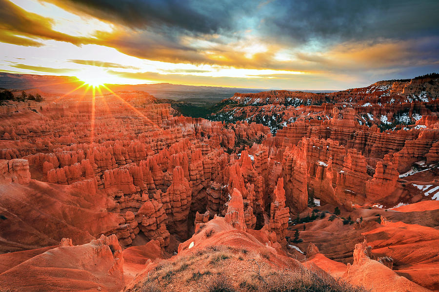 Bryce Canyon Spring Sunrise by Johnny Adolphson