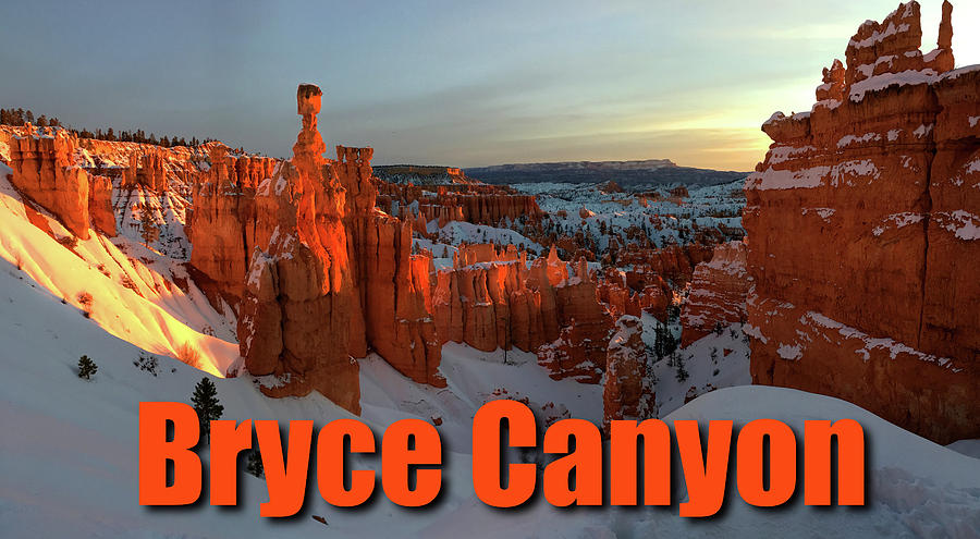 Bryce Canyon Titled by Ron Brown Photography
