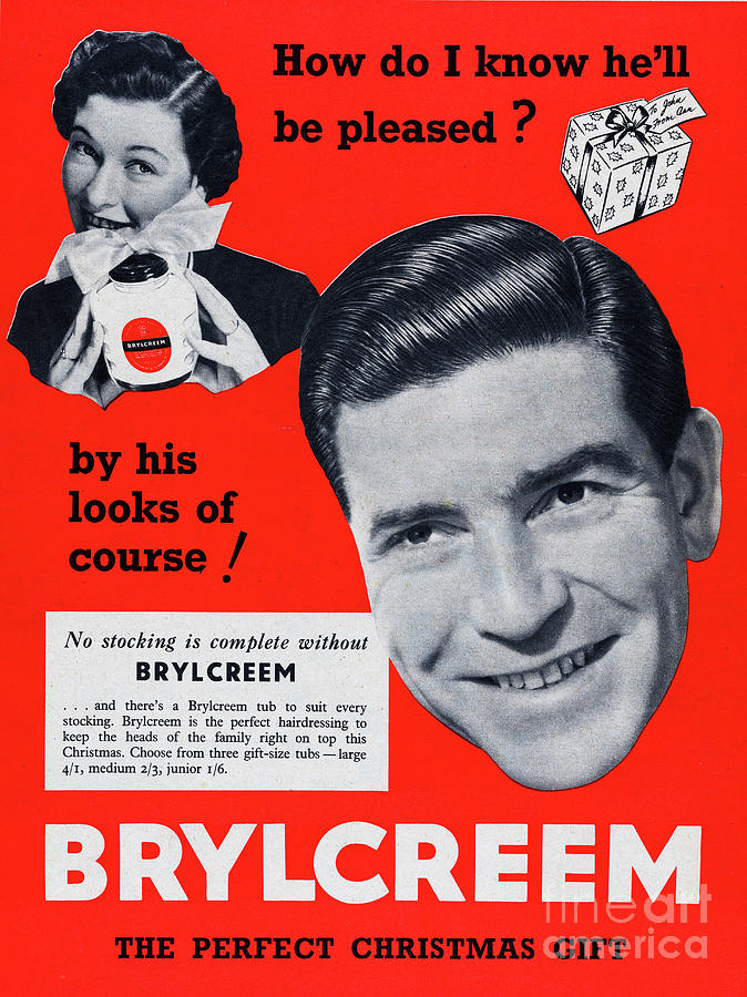 Brylcreem Photograph by Picture Post