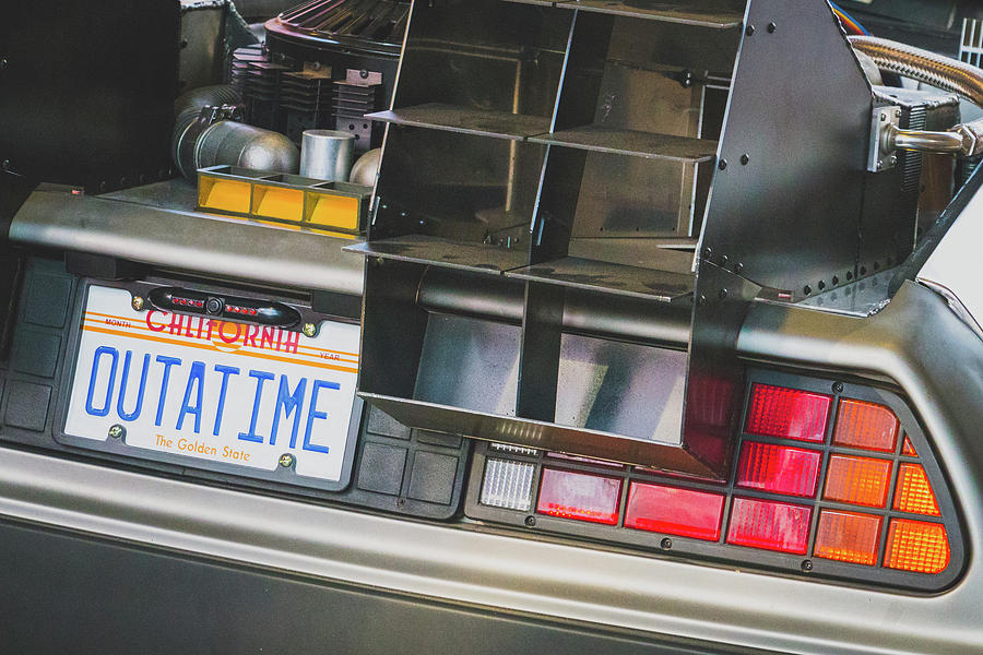 BTTF DeLorean Replica by SR Green