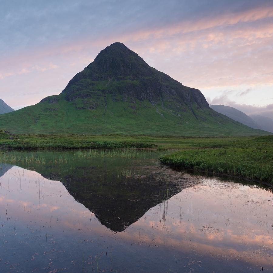 Buachaille Etive Beag Reflections by Stephen Taylor