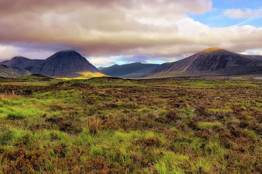 Buachaille Etive Mor from Rannoch Moor - Scotland - Landscape by Jason Politte