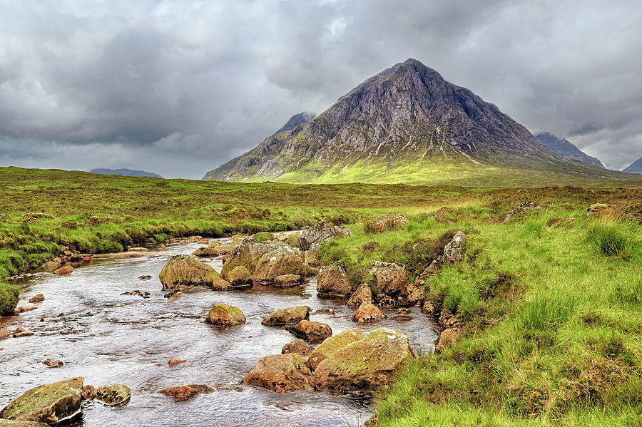 Moody Buachaille Etive Mor - Scotland - Stormy by Jason Politte