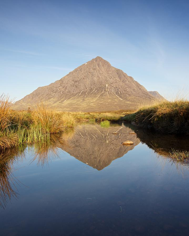 Buachaille Mirrored by Stephen Taylor