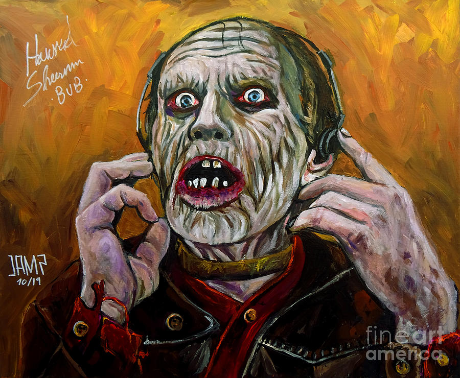 Bub Painting - Bub Day Of The Dead by Jose Mendez
