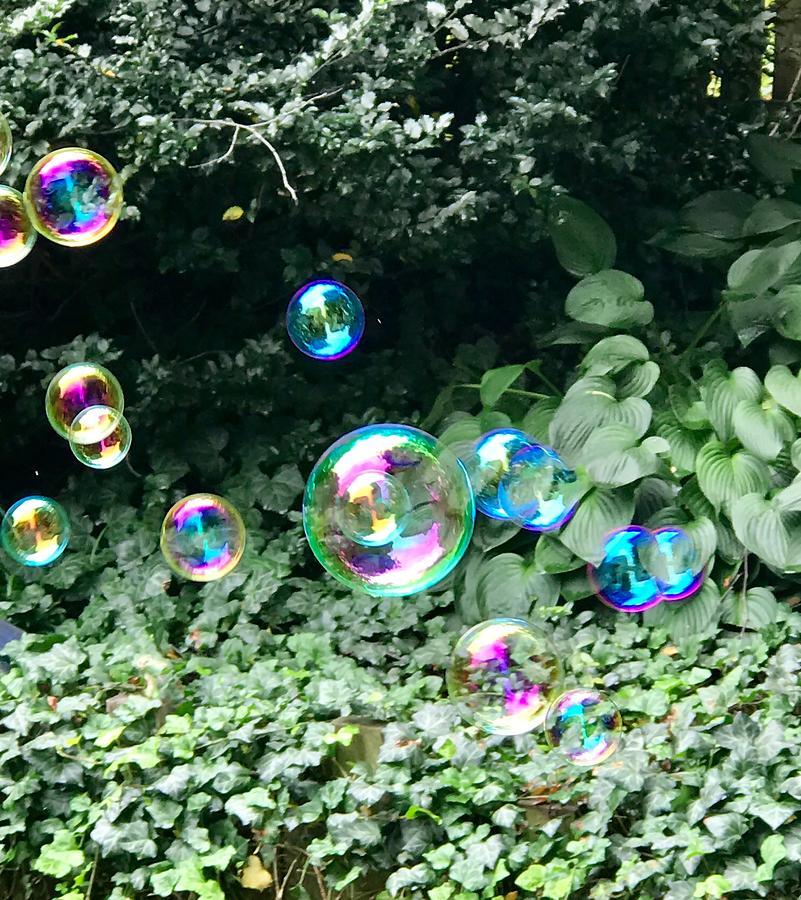 Bubbles That Got Away by Louise Mingua