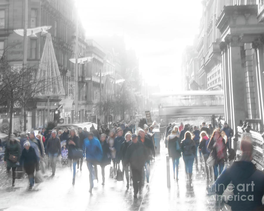 Buchanan Street... Glasgow by Hal Halli