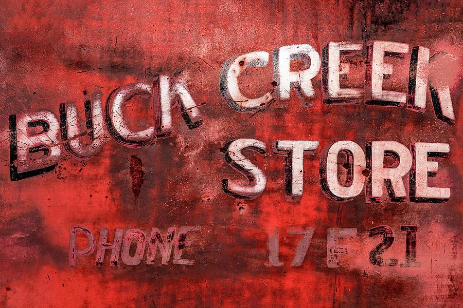Door Photograph - Buck Creek Store by Todd Klassy