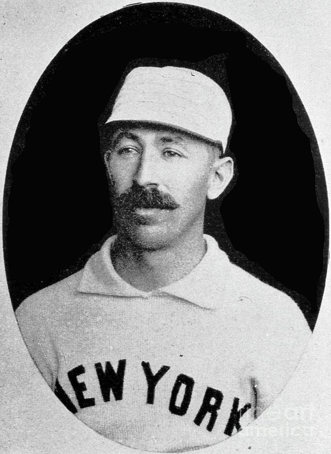 Buck Ewing Portrait 1894 Photograph by Transcendental Graphics