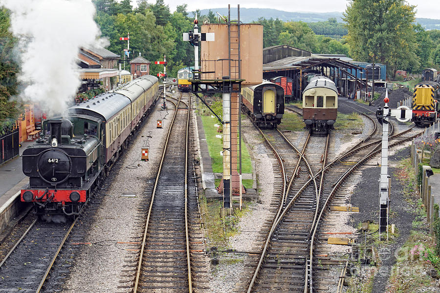 Buckfastleigh Departure by David Birchall