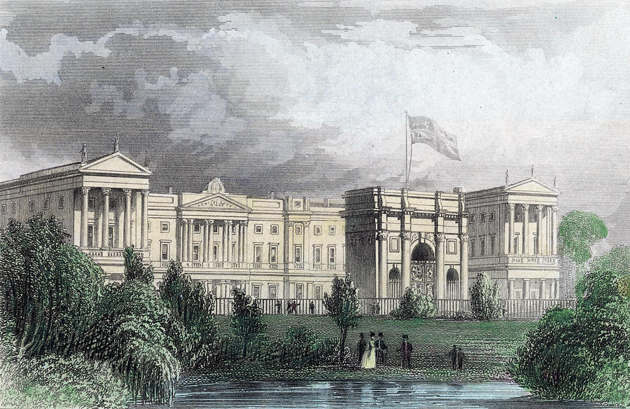 Buckingham Palace Photograph by Hulton Archive
