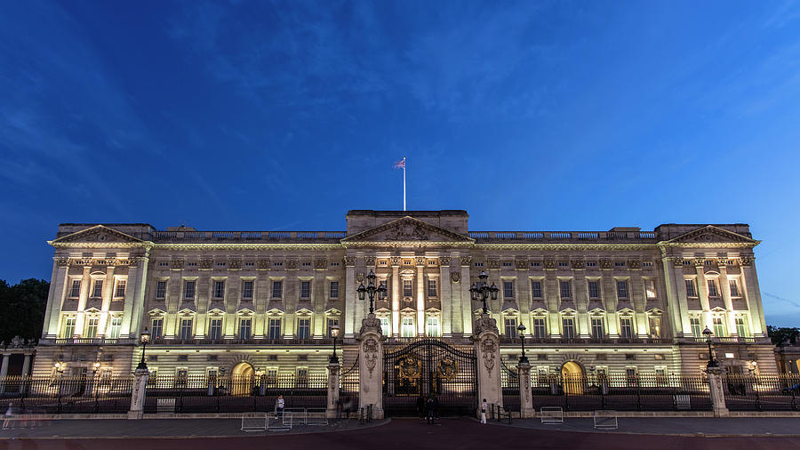 Buckingham Palace London Blue Hour  by John McGraw
