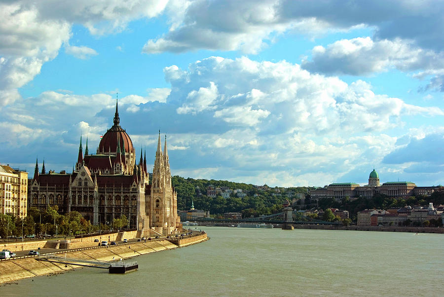 Budapest Afternoon Photograph by Aginger
