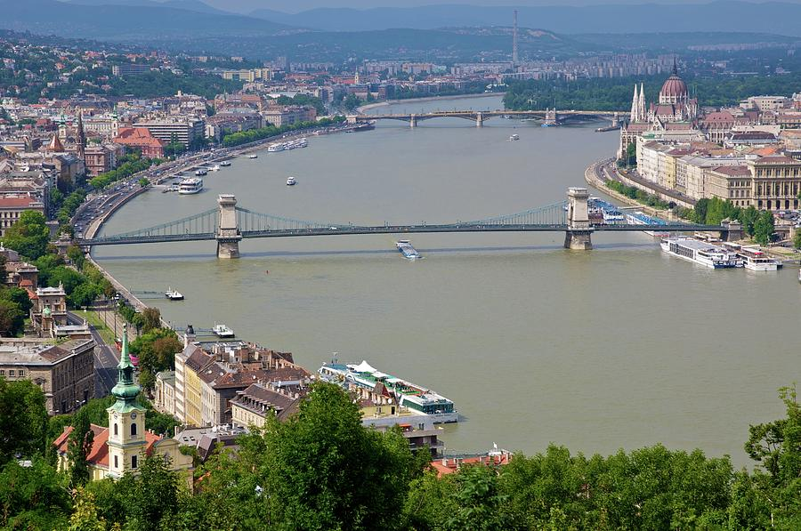 Budapest Danube River Photograph by Photo By Sergio Romiti