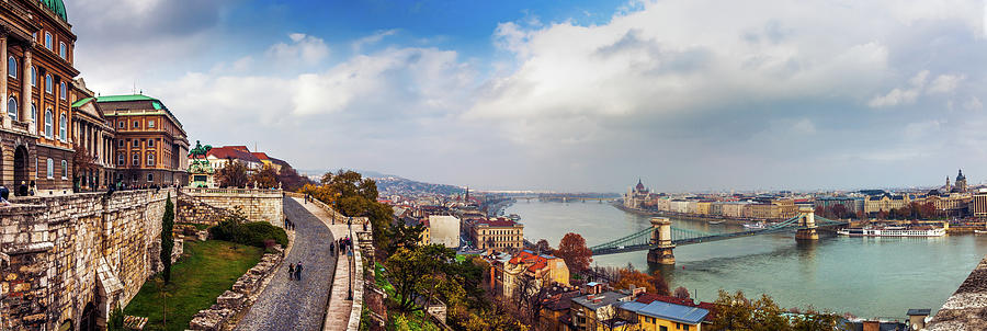 Budapest - Sweeping View Photograph by John And Tina Reid