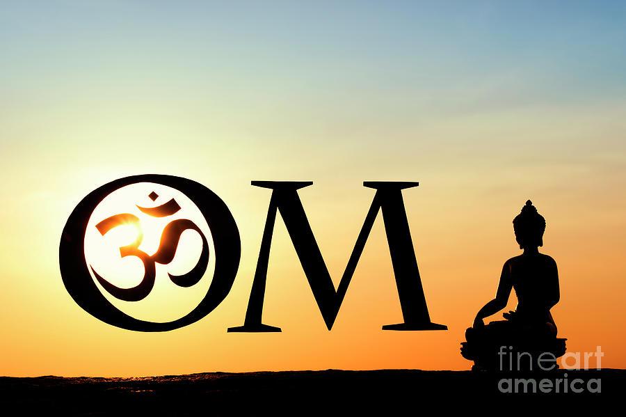 Buddha AUM by Tim Gainey