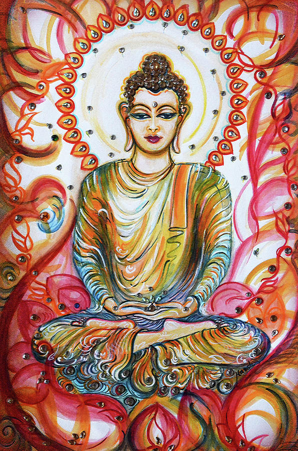 Buddha - enlightened  by Harsh Malik