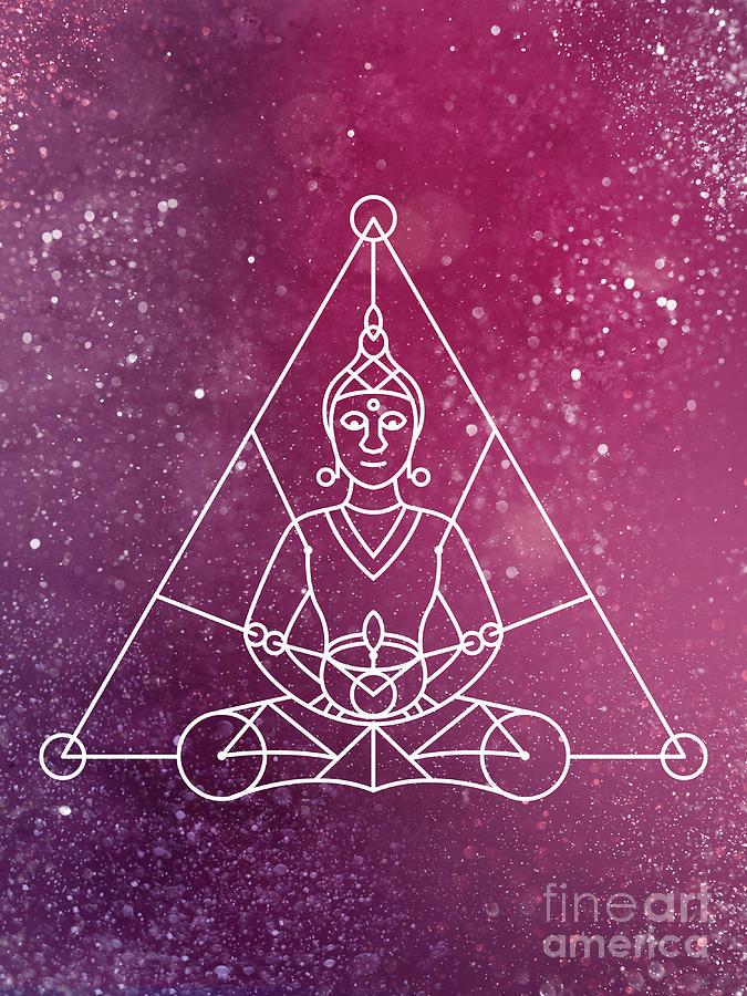 Buddha Meditation by Nathalie DAOUT