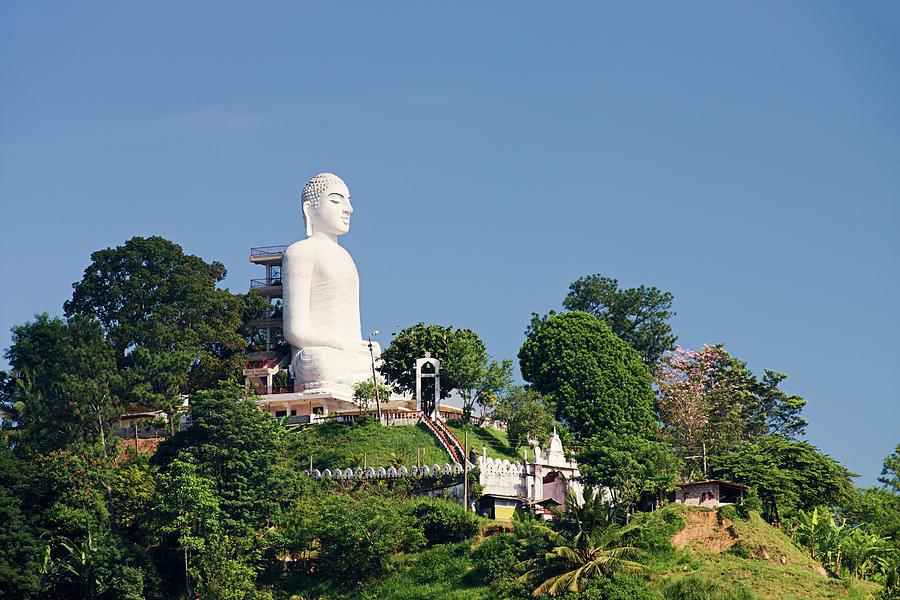 Buddha Statue, Sri Lanka, Kandy Photograph by Hadynyah