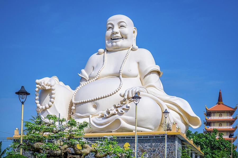 Buddha Vinh Trang Temple by Gary Gillette