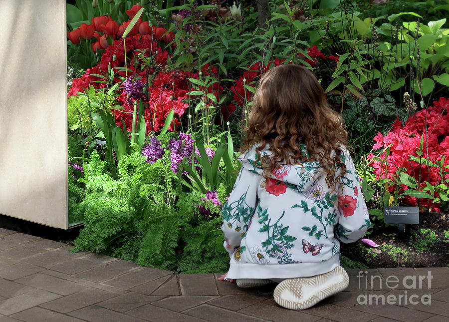 Budding Horticulturist by Ann Horn