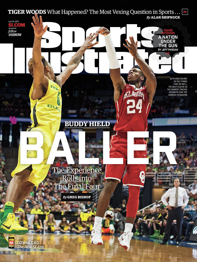Buddy Hield Baller Sports Illustrated Cover Photograph by Sports Illustrated